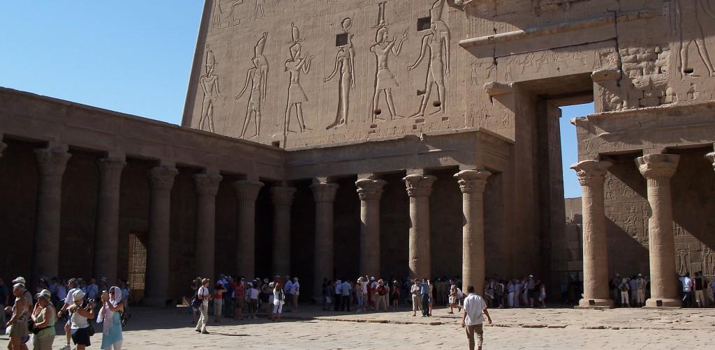 The Beautiful Temple of Edfu Egypt