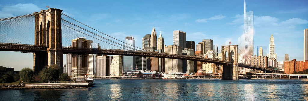 The Brooklyn Bridge Manhattan,New York City