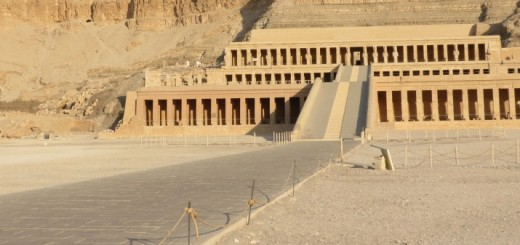The Beautiful Mortuary Temple Ancient Egypt