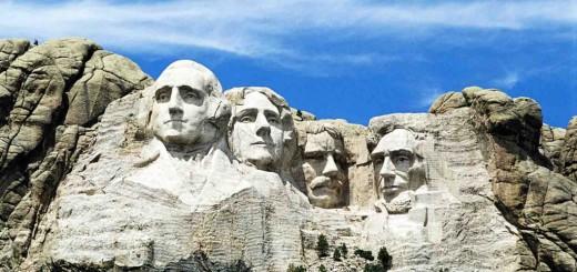 The Mount Rushmore National Memorial - Keystone - South Dakota - United States
