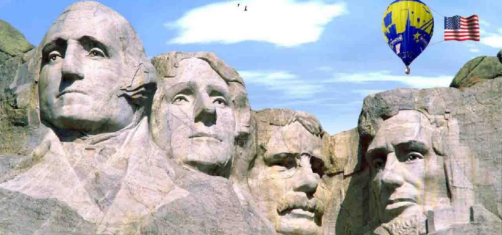 The Mount Rushmore National Memorial - Keystone - South Dakota - United StatesThe Mount Rushmore National Memorial - Keystone - South Dakota - United States