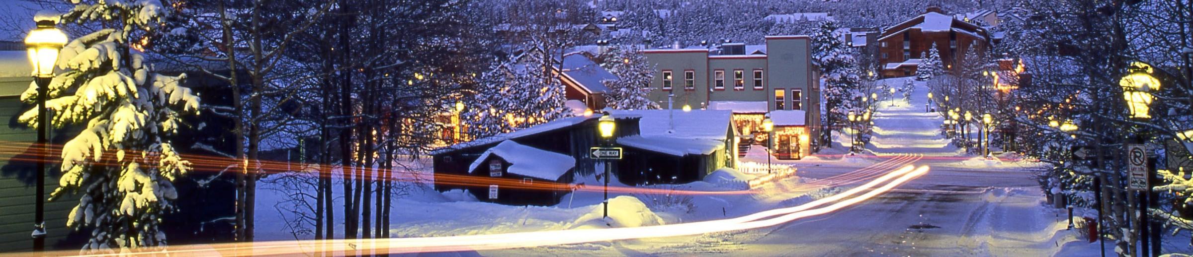 Breckenridge Ski Resort - Alpine Ski Resort Western United States