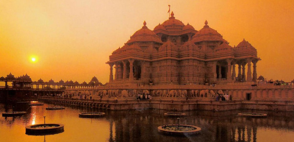 Akshardham -  A Swaminarayan Temple Complex In Delhi, India