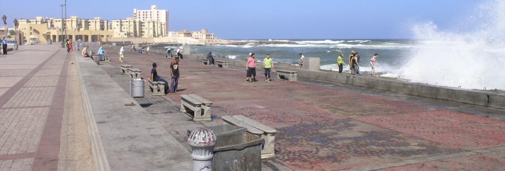 Corniche Alexandria Eastern Harbour, Egypt
