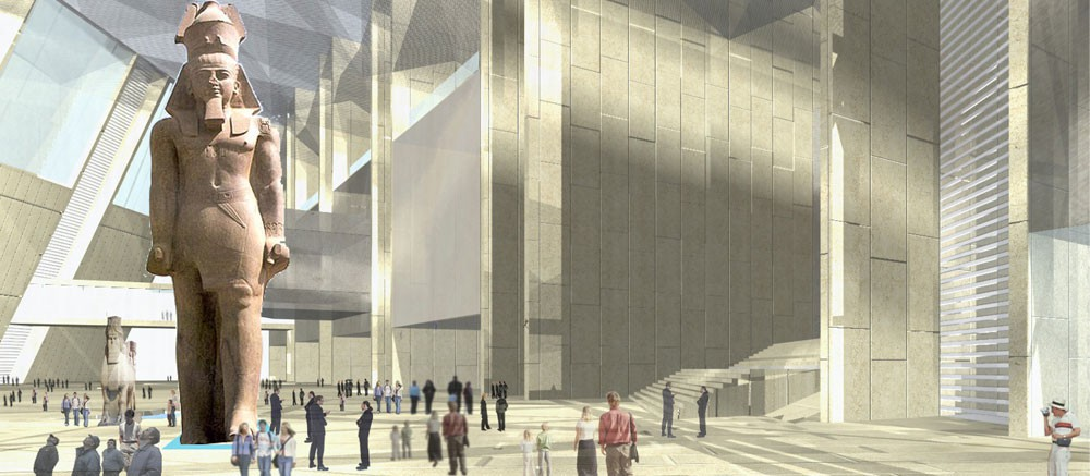 Grand Egyptian Museum - World Largest Archaeological Museum In Giza, Egypt