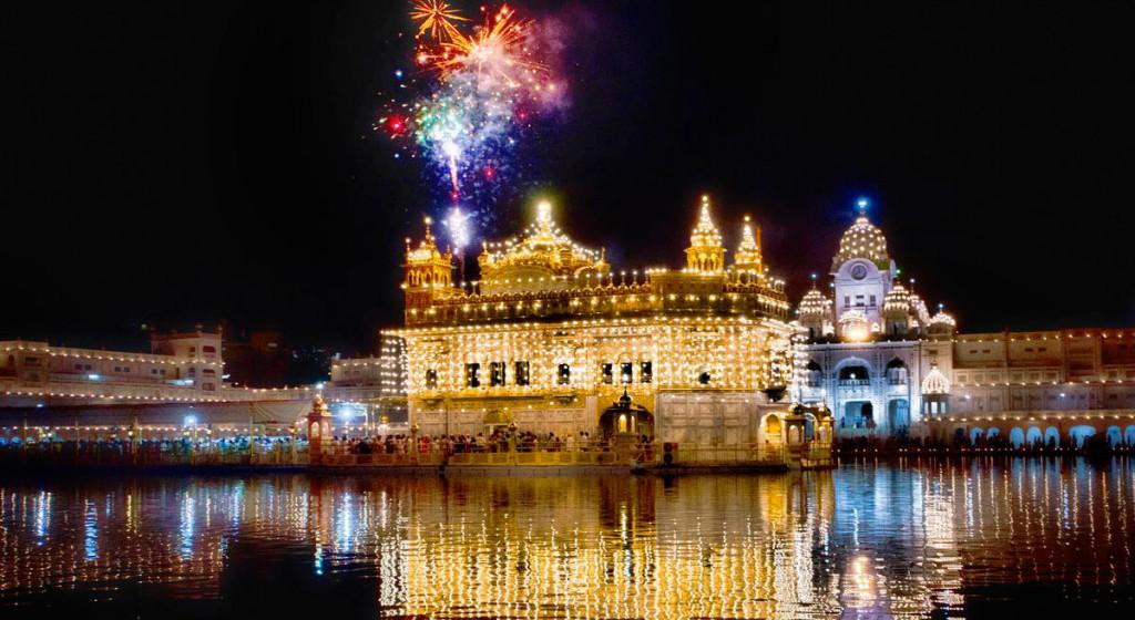 Harmandir Sahib or Darbar Sahib - The Golden Temple In Amritsar, India
