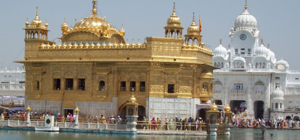 Harmandir Sahib or Darbar Sahib - The Golden Temple In Amritsar, India