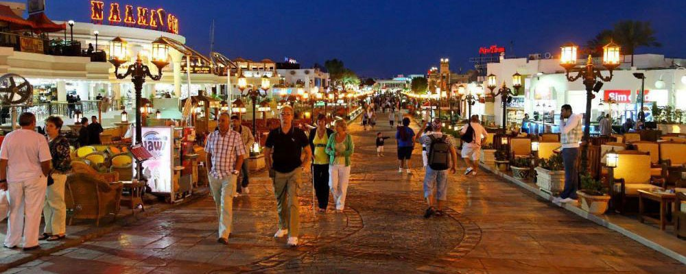 Naama Bay - A Natural Bay In Sharm el-Sheikh, South Sinai, Egypt