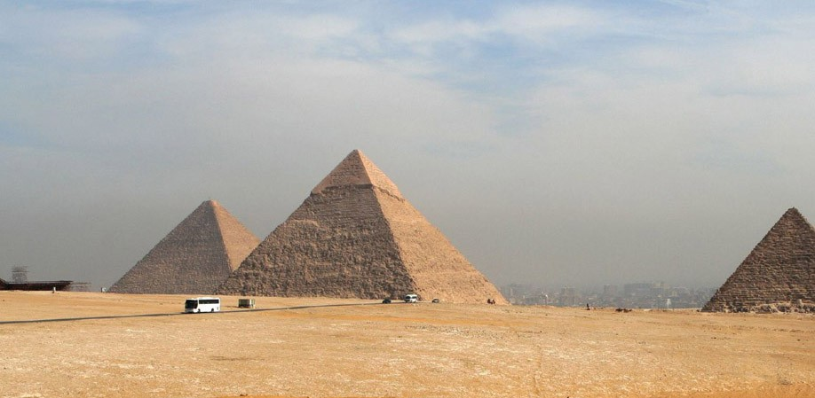 The great pyramid of Giza - Oldest And Largest Of The Three Pyramids In The Giza Necropolis
