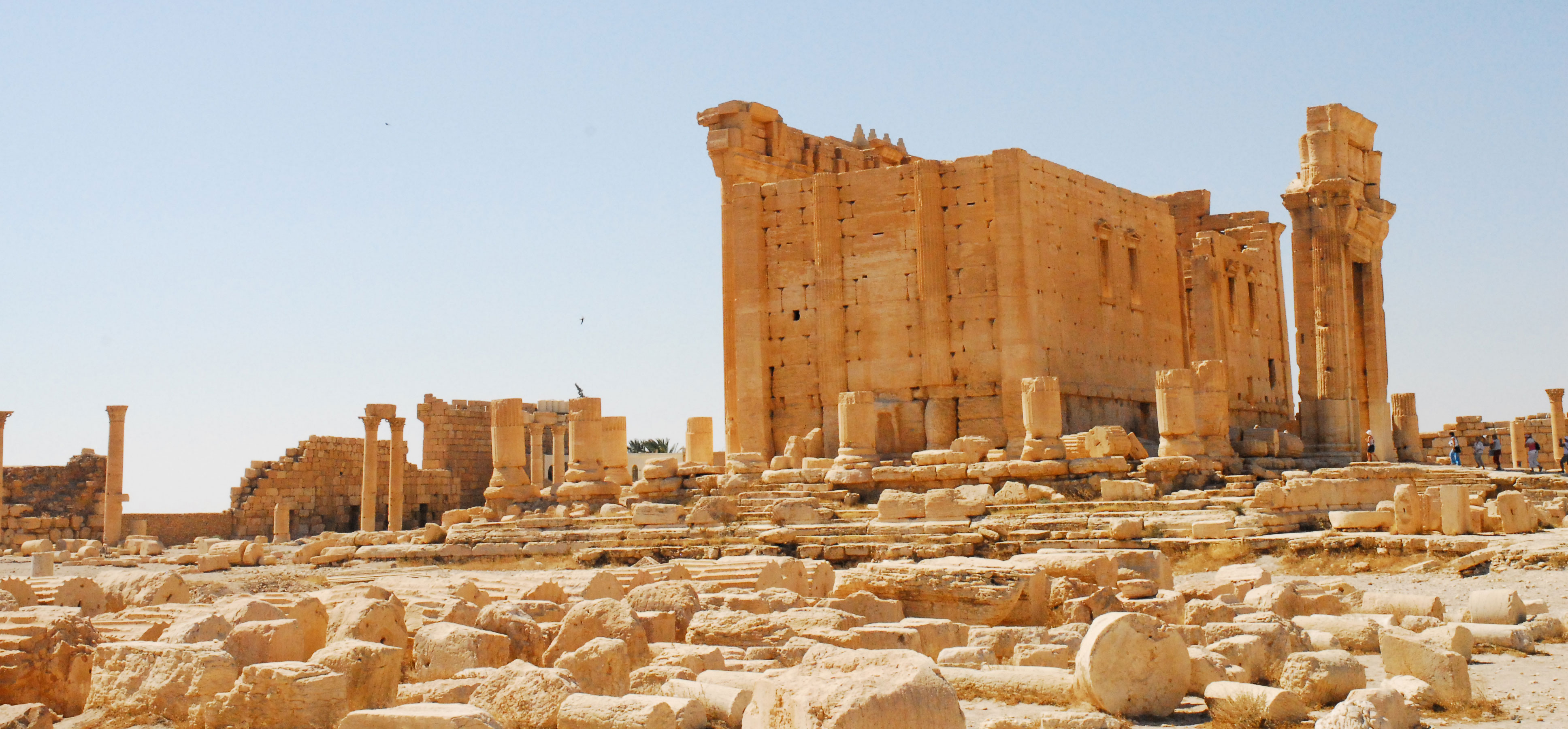 Islamic State (IS) Militants Destroyed The Tombs Of Ancient Palmyra's Temple Of Bel