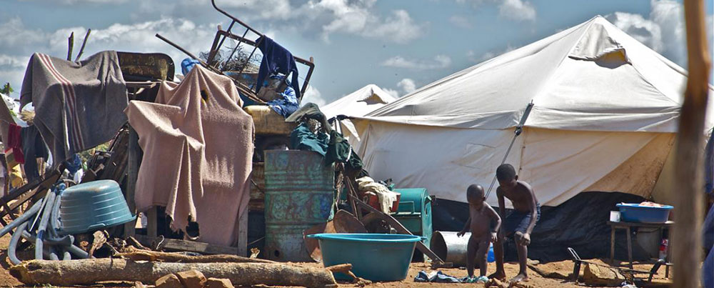 Top 5 poorest countries in the world