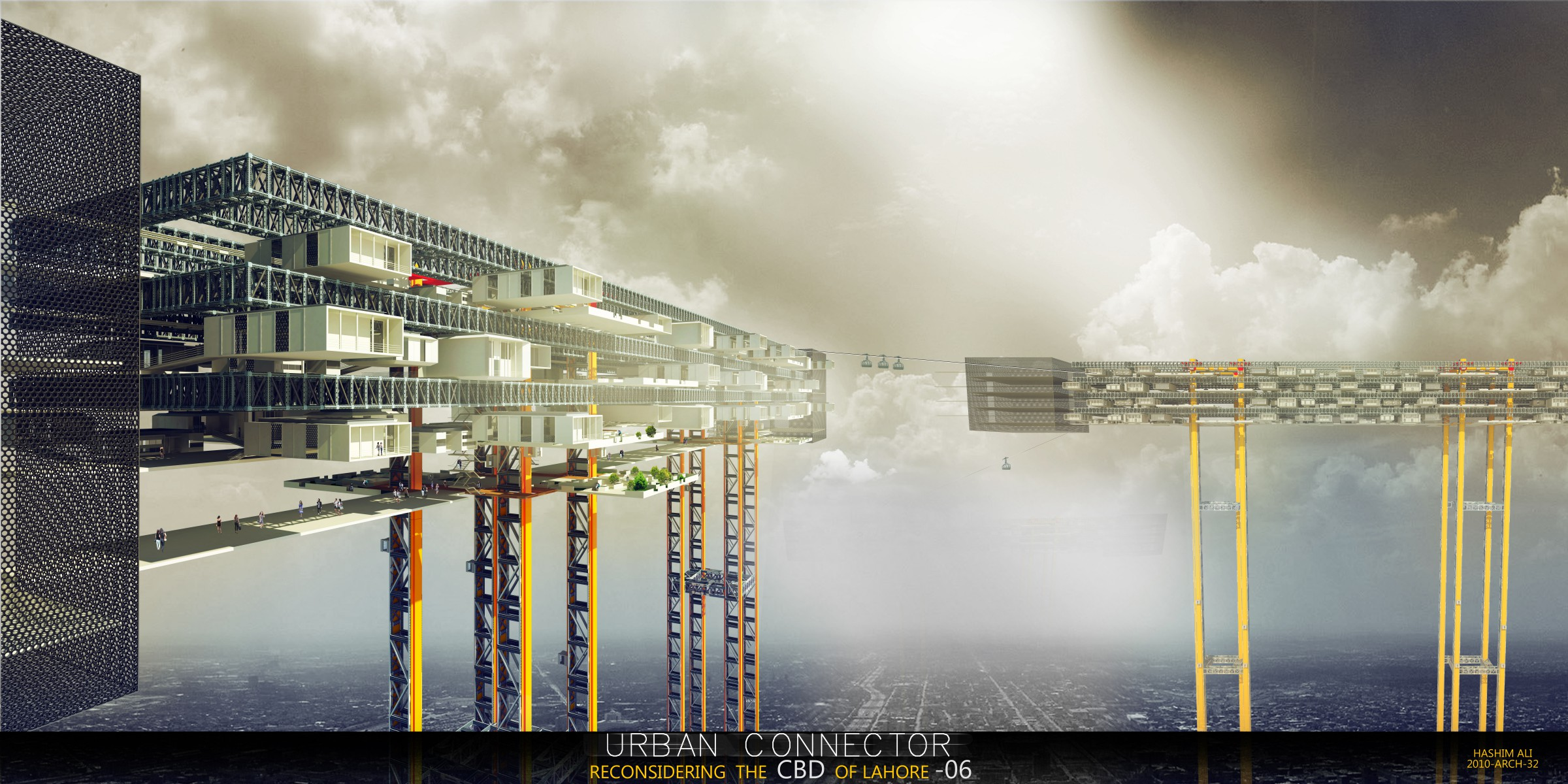Future Cities - Homes Or Cities In Air