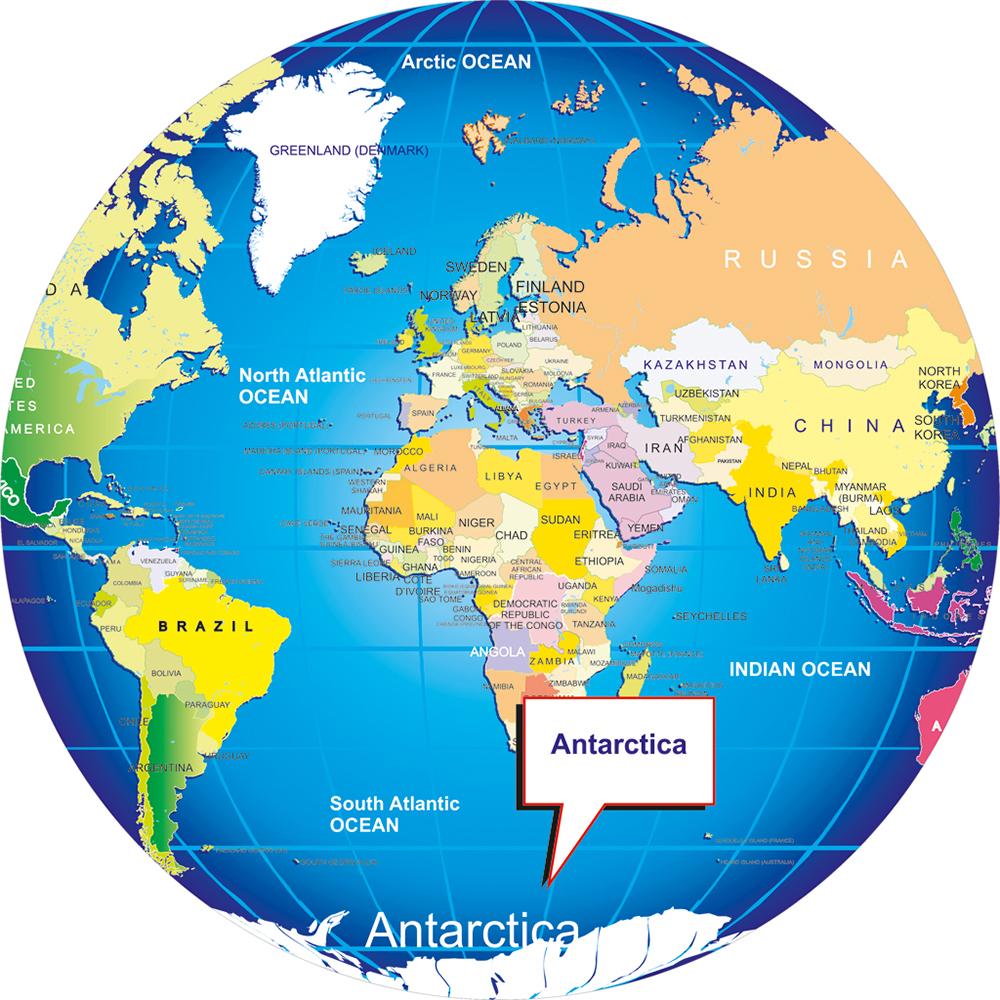 antarctic - beautiful global