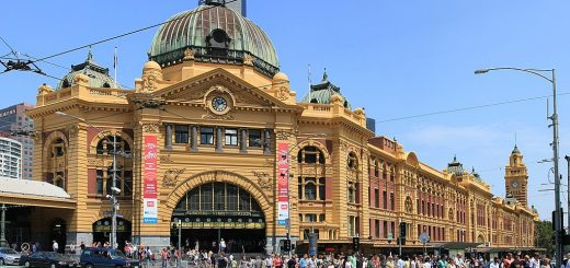 Flinders Street Railway Station, Australia - beautiful global 001