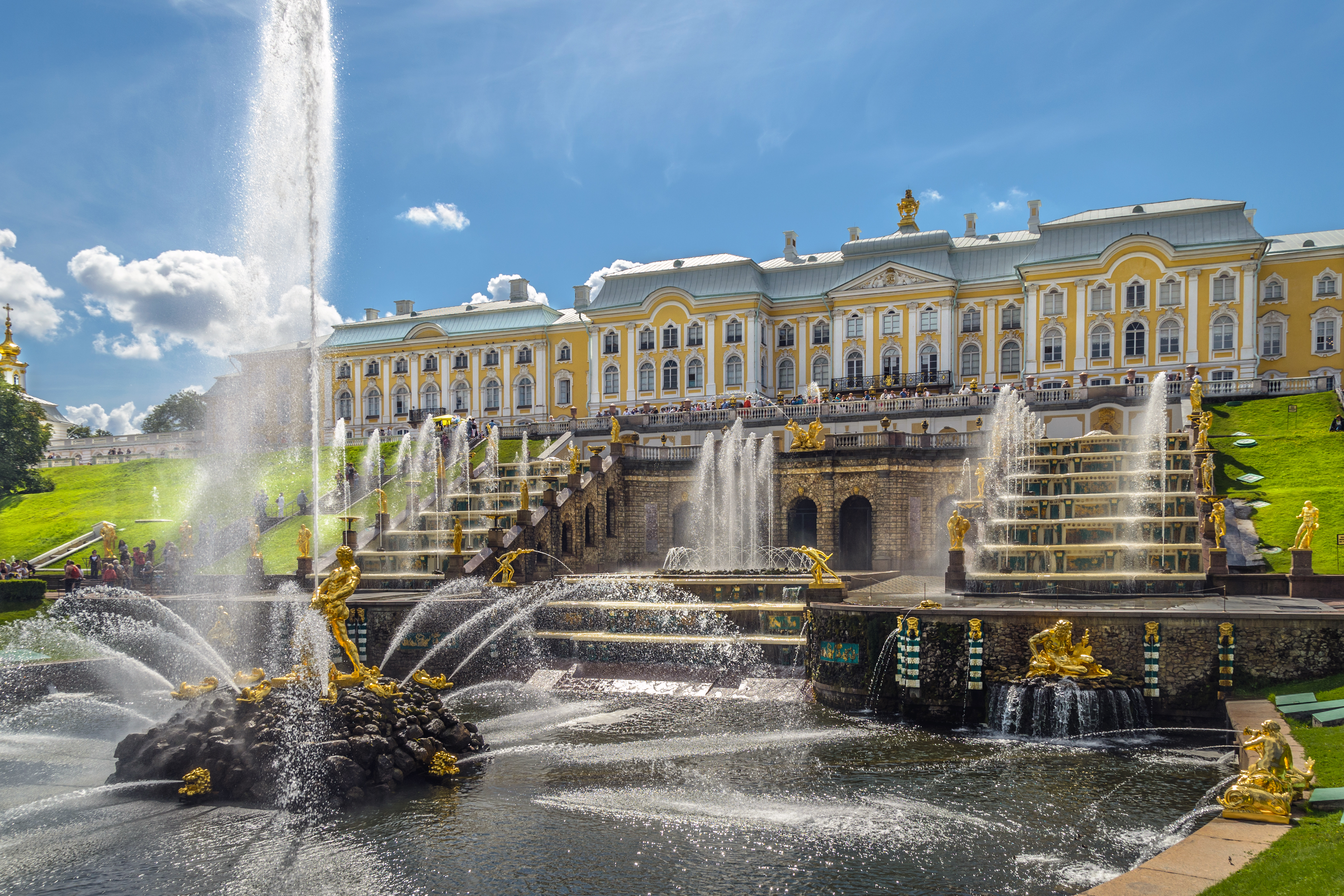 Interesting facts in the history of Peterhof 68