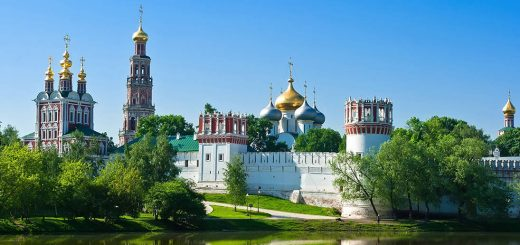Novodevichy Convent, Russia - beautiful global 003