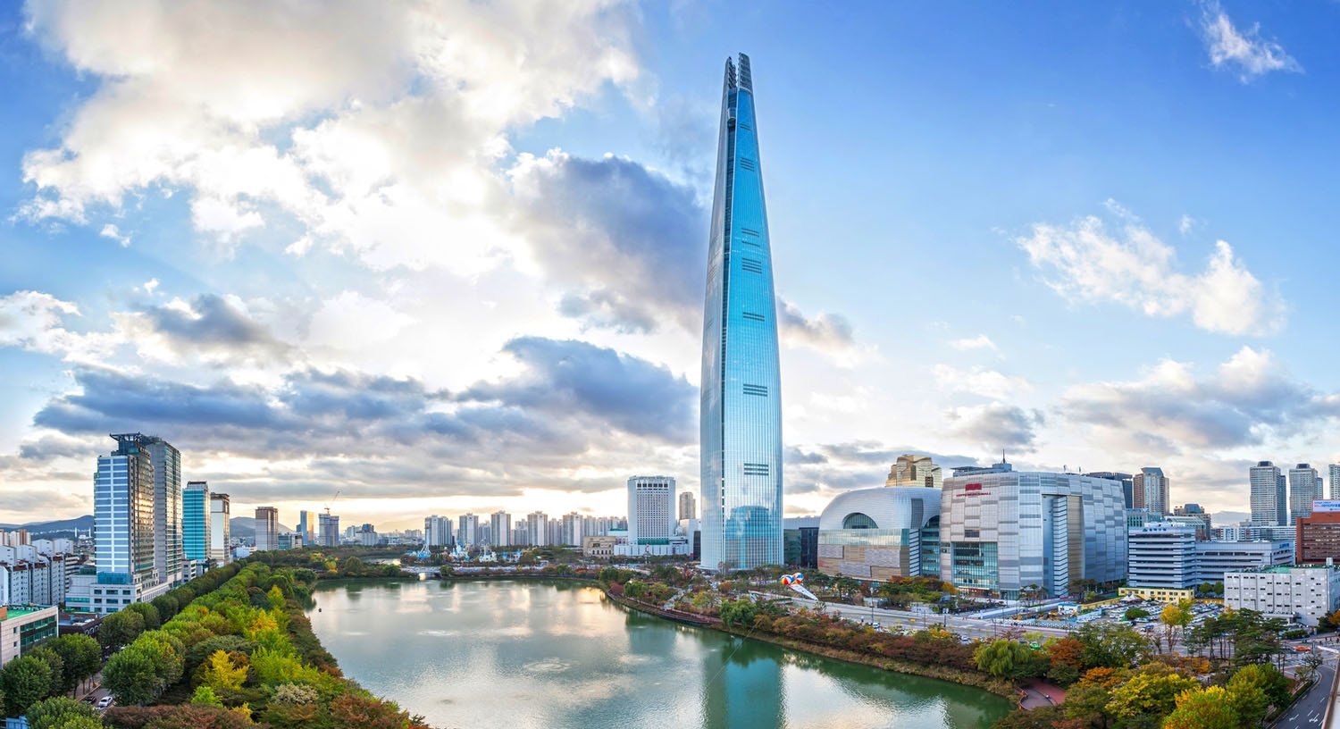 Lotte World Tower - Tallest Building in the World - Beautiful Global