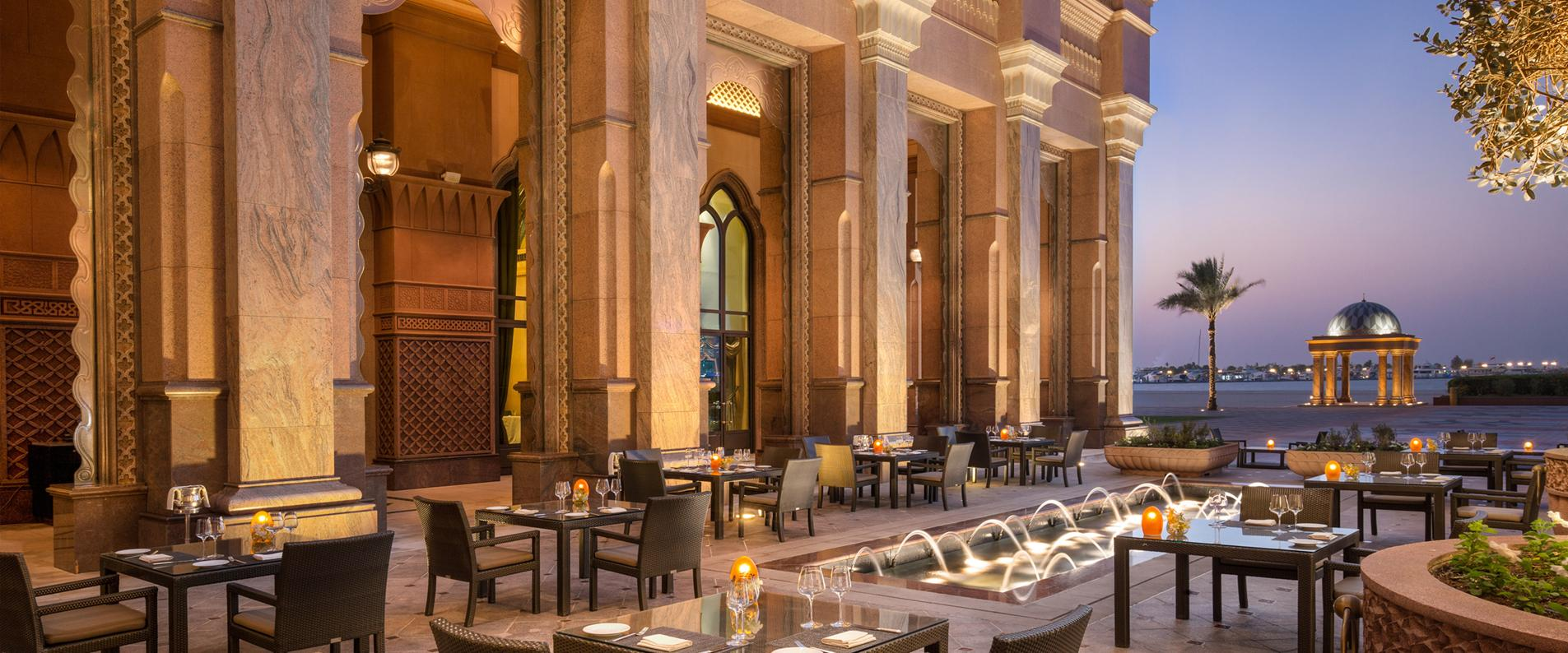 Abu Dhabi has become the home of some of the world's top restaurants