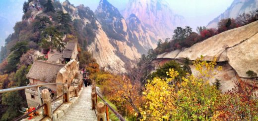 Mount Hua One of the Most Dangerous Place in the World